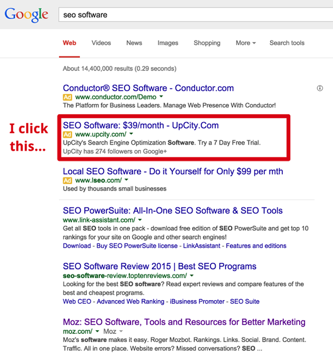1. search for SEO software