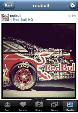 redbull on instagram