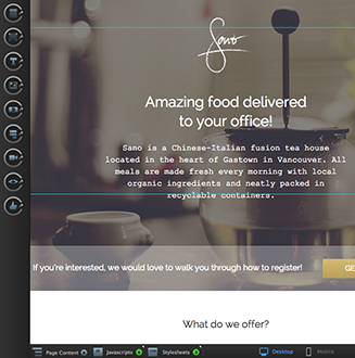 ecommerce landing pages