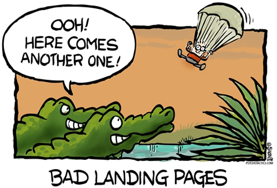 5 Landing Page Design Examples Get Ripped Apart