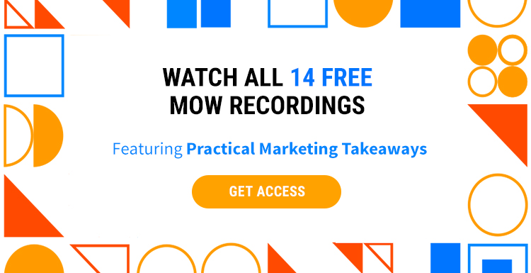 Get Access to All the Recordings From Marketing Optimization Week, ONLY infoTech