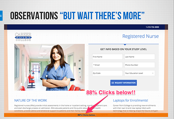 A/B Testing Accidental Results