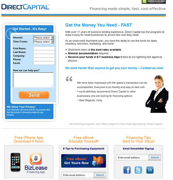AB Testing Direct Capital
