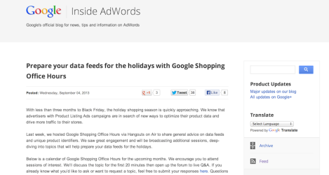 AdWords Blog