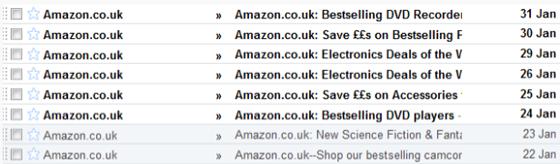 Amazon Email Marketing DVD