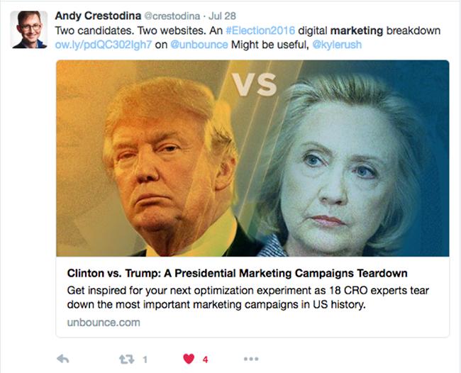 Andy Crestodina tweet