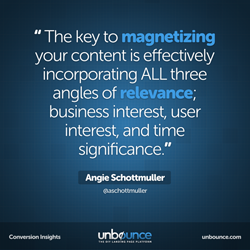 Angie Schottmuller Conversion Insights