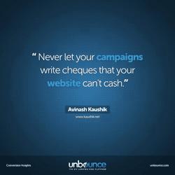 Avinash Kaushik Conversion Insights