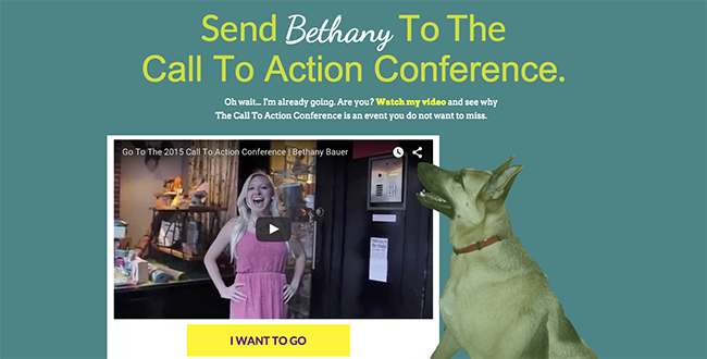 Bethany Landing Page