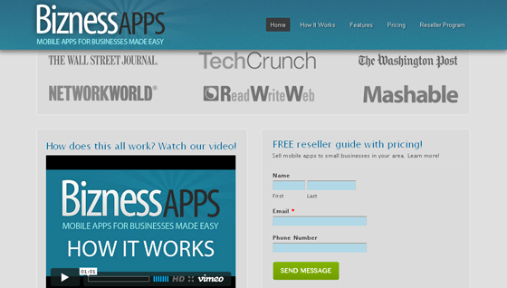 BiznessApps form optimization