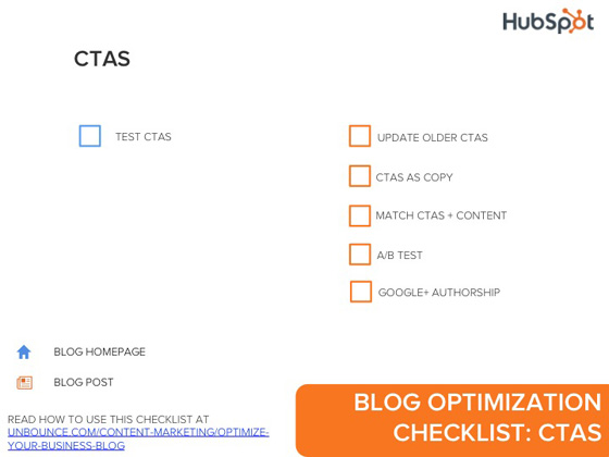 Blog Checklist Infographic-CTAs