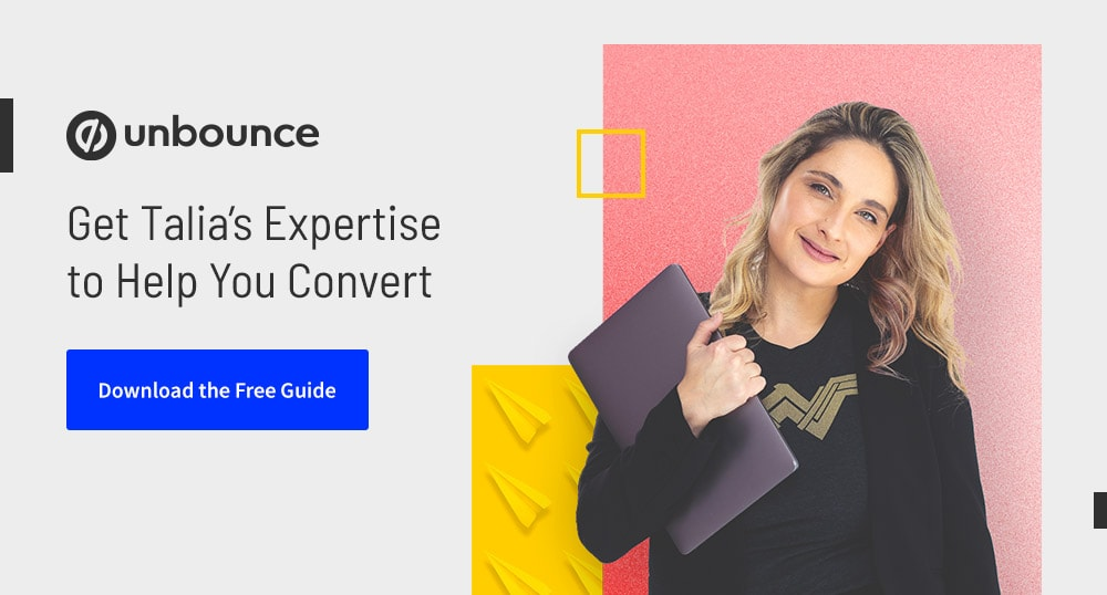 Get Talia's Expertise to Help You Convert - Download the Free Guide