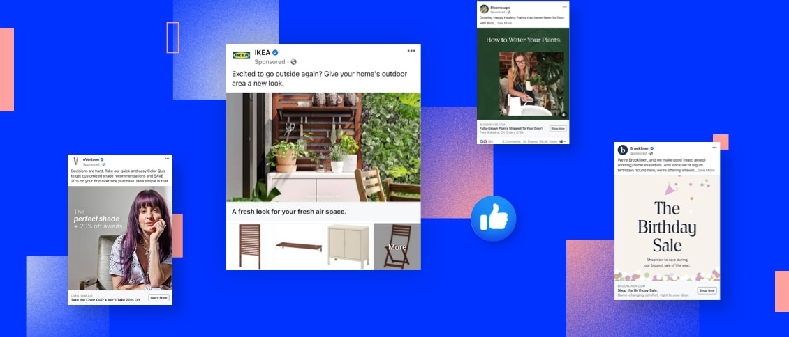 Great Facebook Ads 2021 Examples