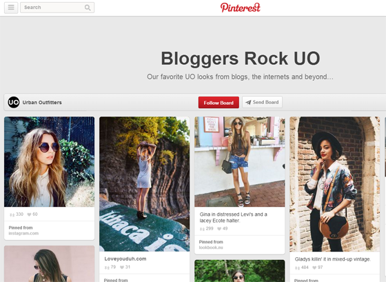 Bloggers Rock UO on Pinterest