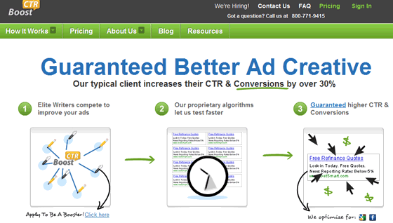 BoostCTR Pay Per Click Banner Advertising