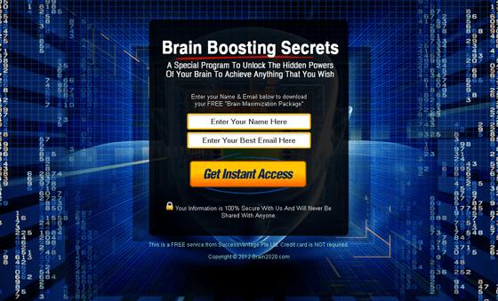 Brain2020 form optimization