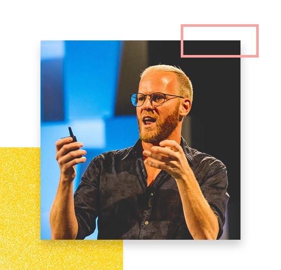 Daniel Parscale, Oli Gardner, Unbounce Co-Founder