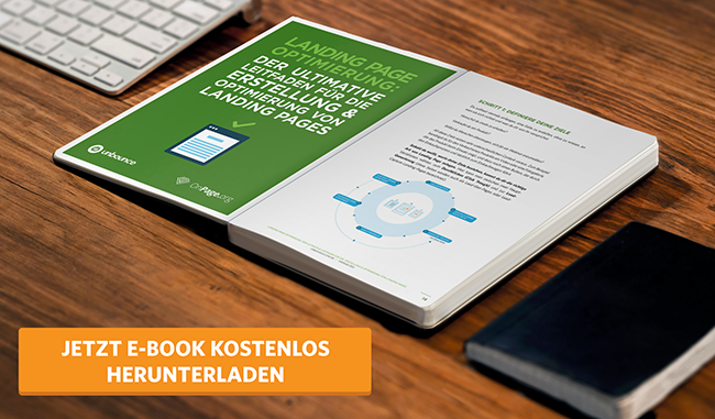 Landing Page Optimierung LPO EBook Unbounce