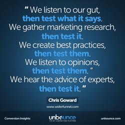 Chris Goward Conversion Insights