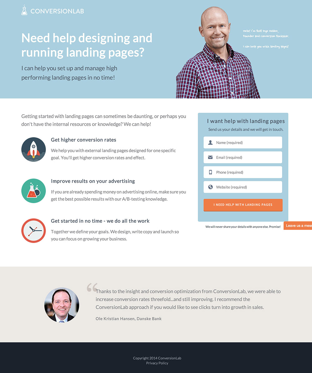 6fe6d64858 22 Brutally Honest Landing Page Critiques