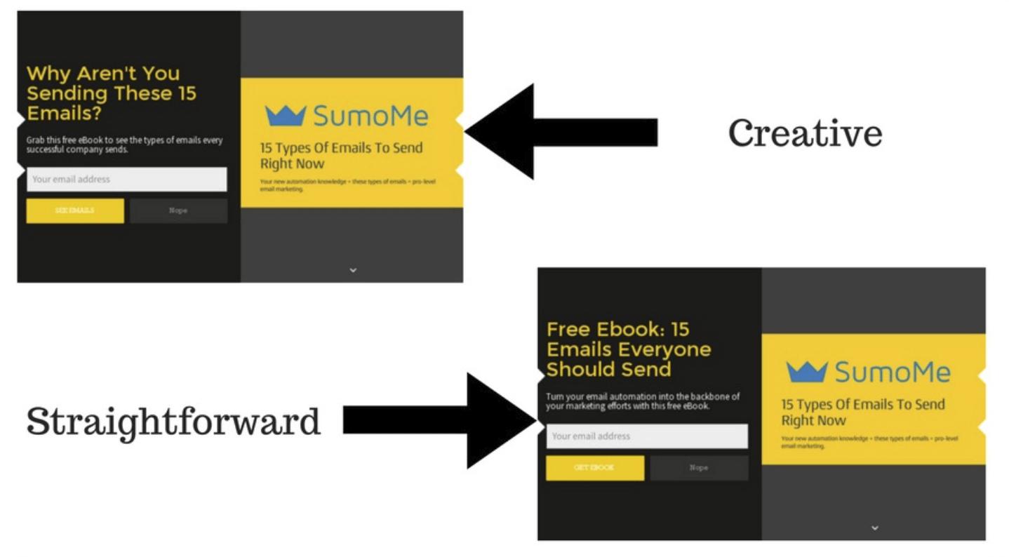 Landing Page Headlines - Sumo