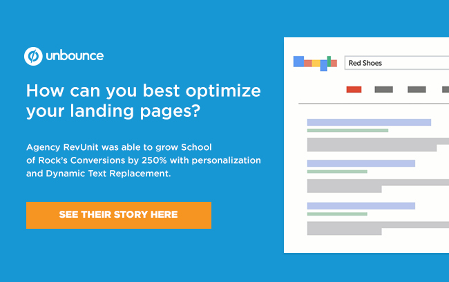 Want to optimize your landing pages?