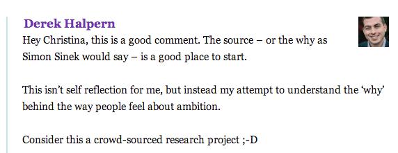 Derek Crowdsourced research
