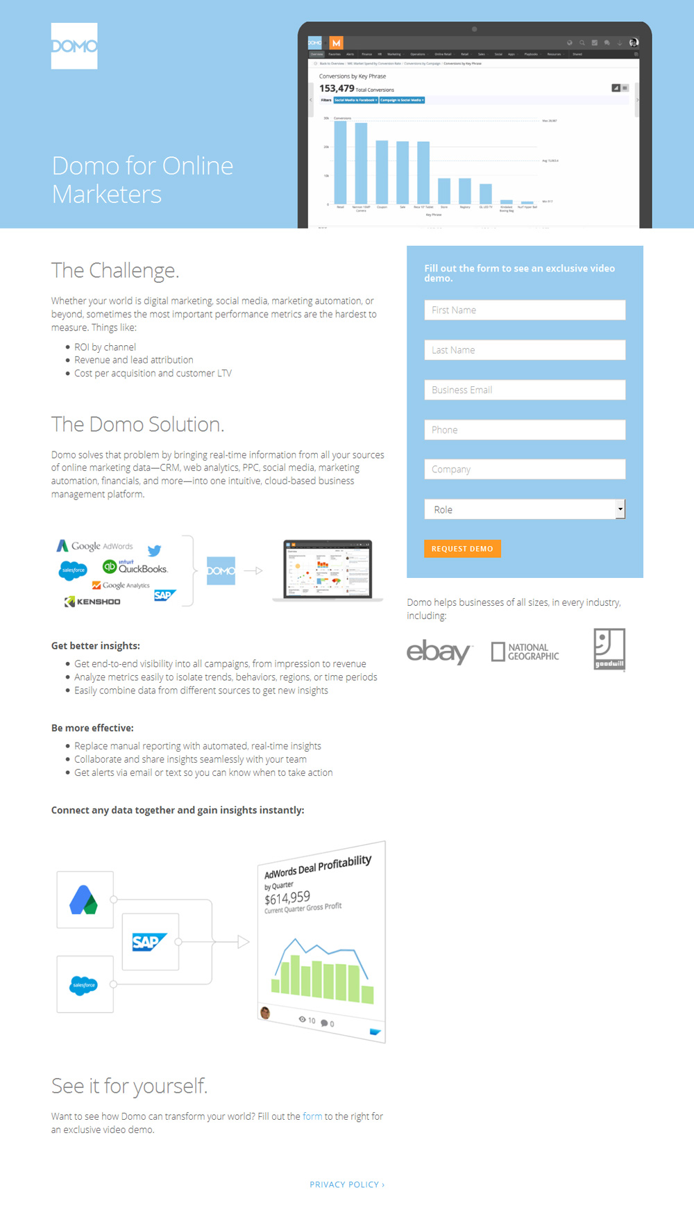 Sell Software in a Single Page: SaaS Landing Page Teardowns