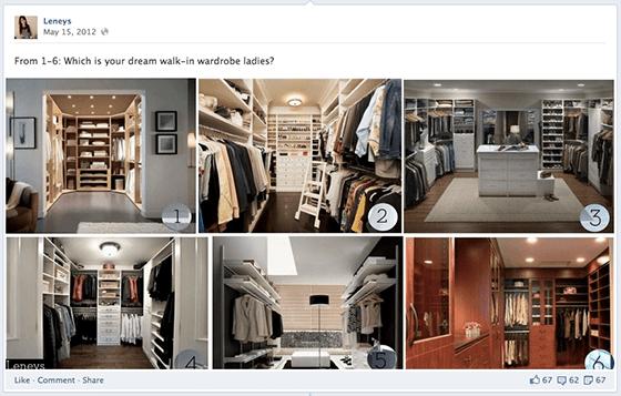 Facebook Engagement Tactics - Collage Choice