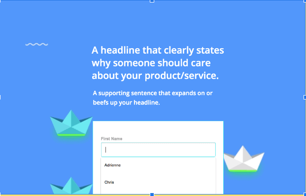Auto-Fill on a Form