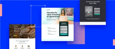 Examples of Landing Pages for Startups