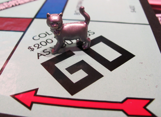 Hasbro's new Monopoly game piece and content