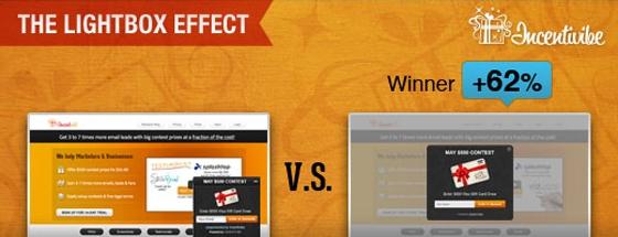 Incentivibe Lightbox Effect