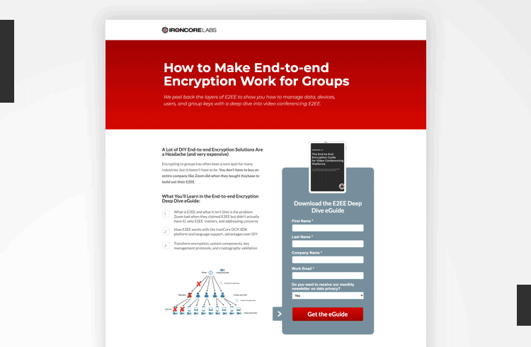 Twitter Landing Page Examples - IronCore Labs