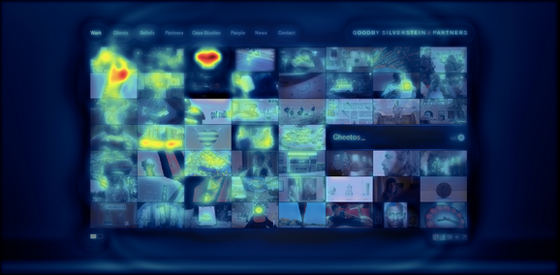 Landing Page With Heat Map