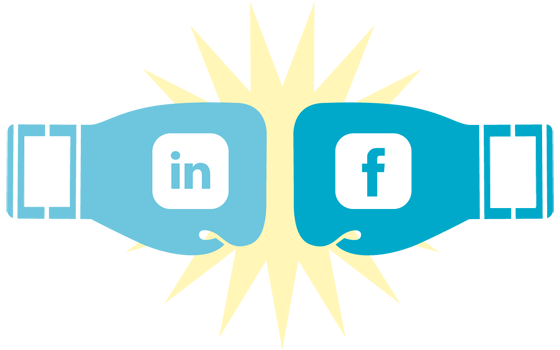 Linkedin vs Facebook B2B Marketing