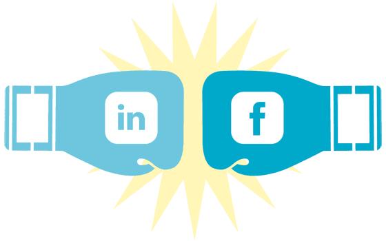 Linkedin vs Facebook B2B Marketing