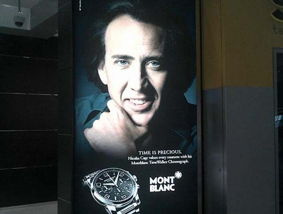 Marketing Fail Nicolas Cage