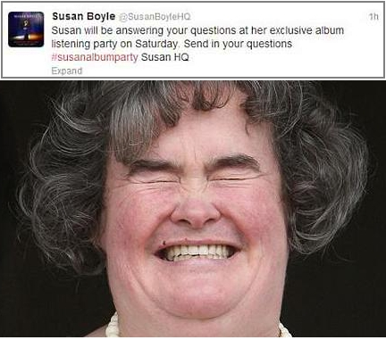 Marketing Fail Susan Boyle
