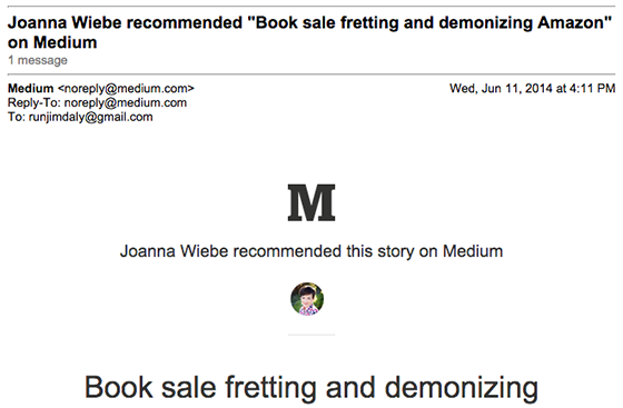 Behavioral E-Mail von Medium