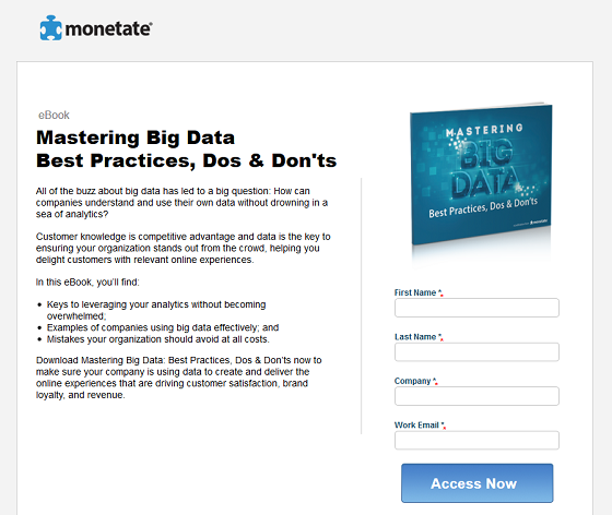 Ebook on big data - digital content creation
