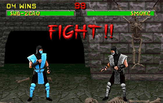 Mortal Kombat for landing pages