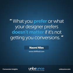 Naomi Niles Conversion insights