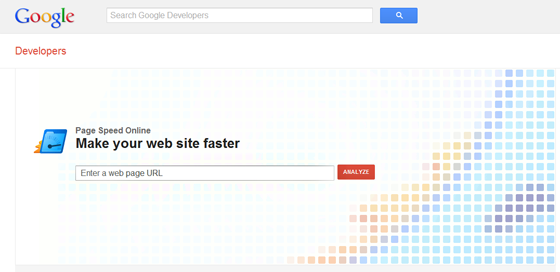 Page Speed Test Google Developers