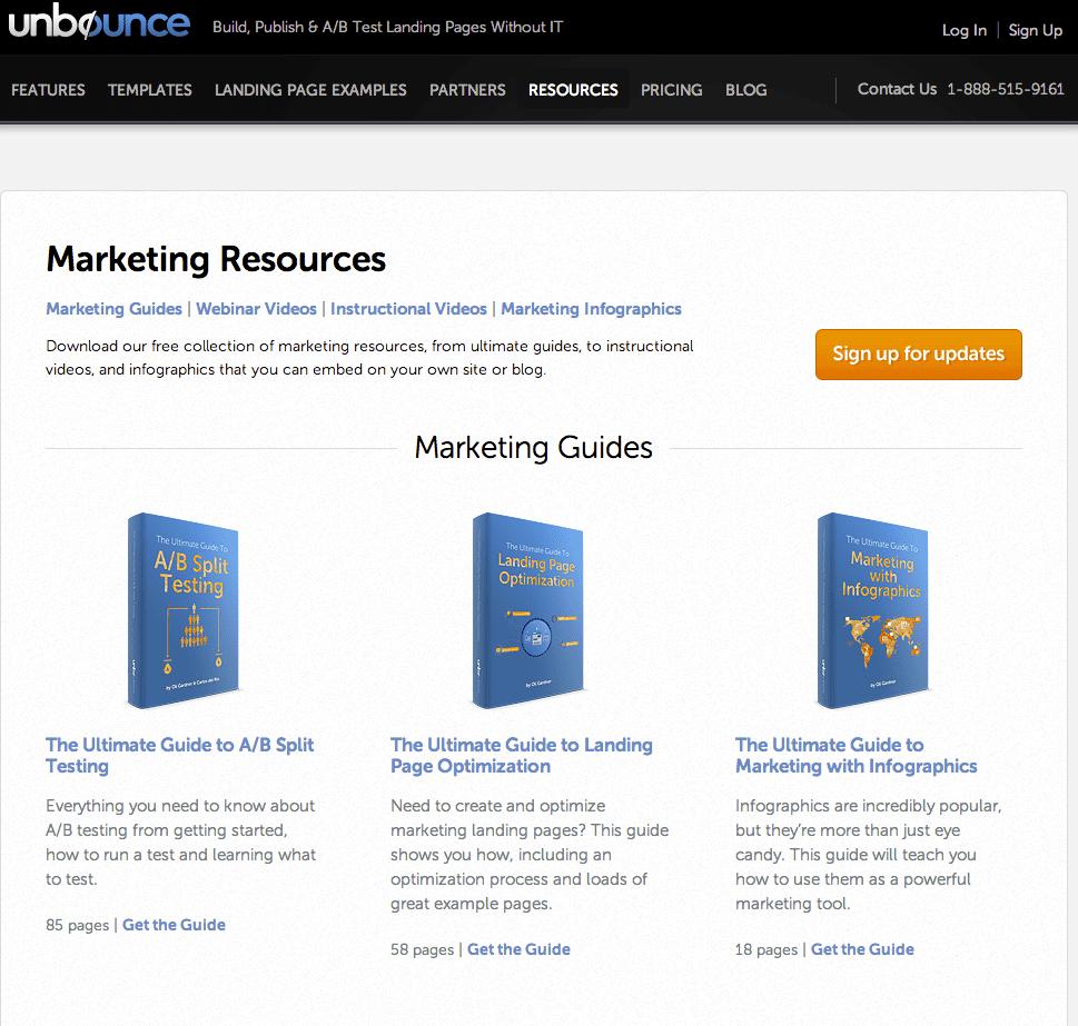 Resource Landing Page 1