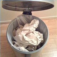 Resume Trash Can