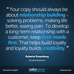 Roberta Rosenberg Conversion Insights