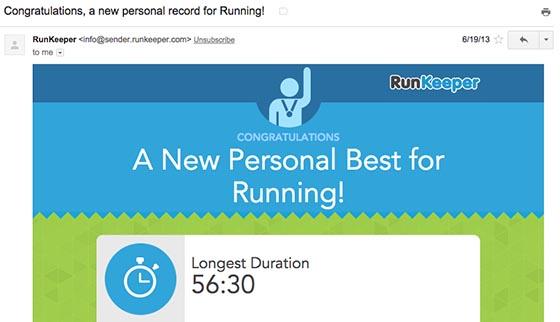 RunKeeper Milestone Email-560