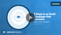 5 Steps to an Email Campaign That Converts