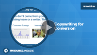 Copywriting for conversion webinar